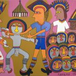 Cambridge Museum of Archaeology and Anthropology Acquires Mathias Kauage Painting