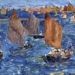 Maurice Prendergast Exhibition at the Museum of Fine Arts, Houston