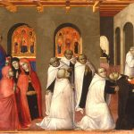 Sassetta Arte Della Lana Altarpiece at The Bowes Museum
