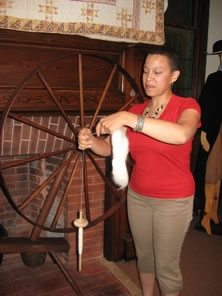 Museum of Early Trades and Crafts Hosts Spinning Workshop