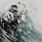 Maggi Hambling: The Wave Exhibition at The Fitzwilliam Museum