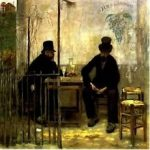 de Young Museum Acquires Jean-Francois Raffaelli Painting The Absinthe Drinkers