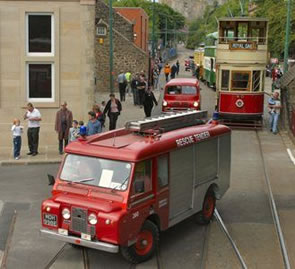 Crich Tramway Village Hosts Emergency Vehicles Day