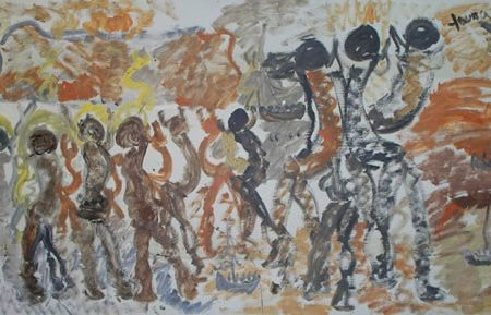 Miami Art Museum Opens Focus Gallery: Purvis Young