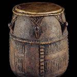 Akan Drum on Display at the British Museum