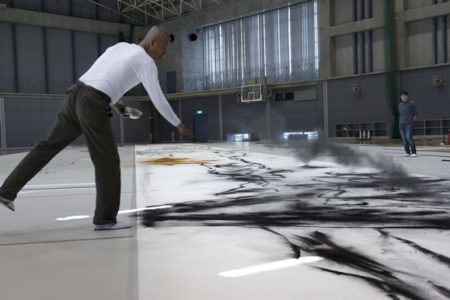 Museum of Fine Arts Houston Commissions Artist Cai Guo-Qiang to Create Gunpowder Drawing