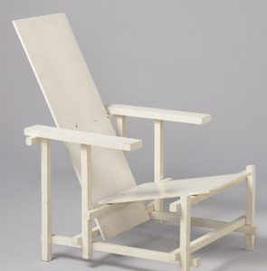 Rijksmuseum Acquires 20th-Century Masterpieces – White Chair by Rietveld and Reliefs by Schoonhoven