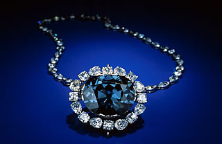 Smithsonian National Museum of Natural History Displays the Hope Diamond