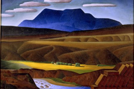 South Texas Art Museum Presents Alexandre Hogue An American Visionary / Paintings and Works on Paper