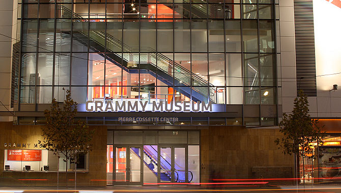 Grammy Museum Opens Trouble In Paradise. Music and Los Angeles