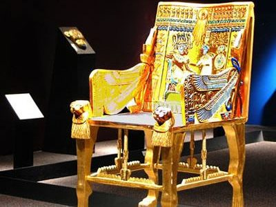 Tennessee State Museum Opens Egyptian Relics Replicas & Revivals Treasures from Tutankhamun