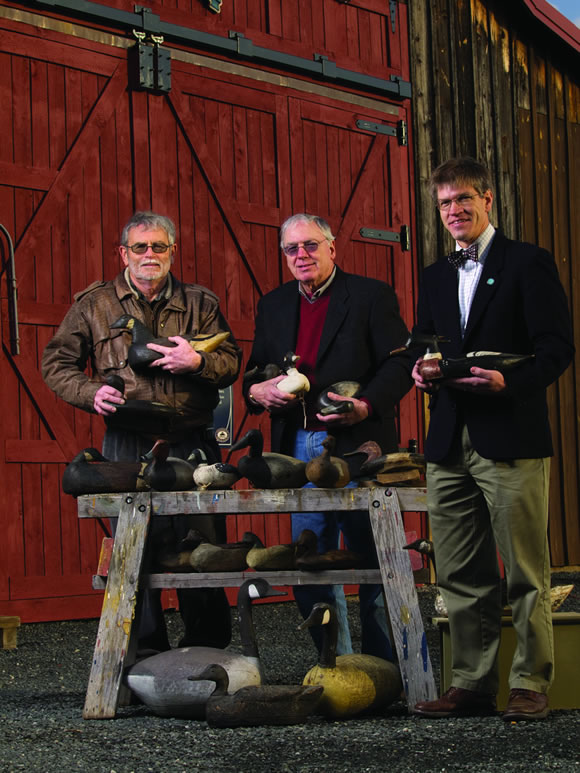 CBMM's Decoys of Dorchester County exhibit featured at Waterfowl Festival's Artifacts Exhibit