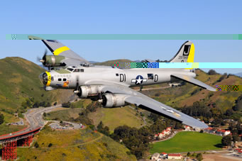 World War II Bomber and Fighter Rides at Museum of Flight April 30 and May 1