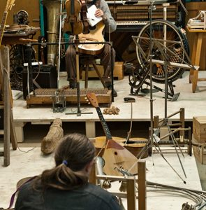 Museum Tinguely Opens New Version of the Two-Man Orchestra Led by Wilhelm Bruck and Matthias Wursch