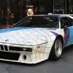 Guggenheim Museum BMW M1 Pro Car Painted by Frank Stella to be Auctioned at Quail Lodge