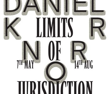 Romanian Cultural Institute of Stockholm Presents Daniel Knorr Limits of Jurisdiction