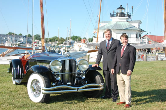 St. Michaels Concours d'Elegance set for Chesapeake Bay Maritime Museum (CBMM) on September 25