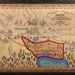 The Autry Displays Bonanza Ponderosa Ranch Map