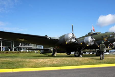 First Time Since 1999, The Museum of Flight's World War II B-17 on Display