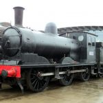 National Railway Museum at Shildon Displays Sole surviving NER J21 class locomotive No. 65033