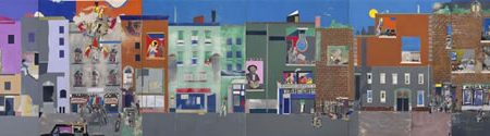 Metropolitan Museum of Art Displays Romare Bearden The Block