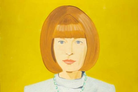 National Portrait Gallery Acquires Alex Katz Portrait of Anna Wintour