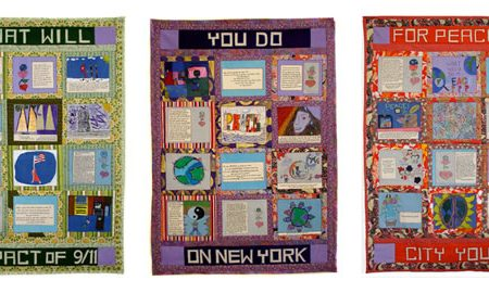 Metropolitan Museum of Art  Displays The 9/11 Peace Story Quilt by Faith Ringgold and New York City Students