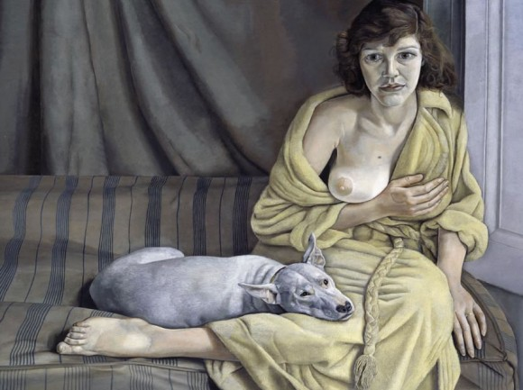 Modern Art Museum of Fort Worth presents Lucian Freud. Portraits exhibition