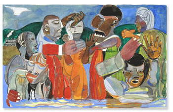 Tampa Museum of Art opens Romare Bearden. Southern Recollections