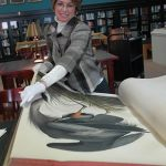 DAILY MUSEUM RITUAL PAYS HOMAGE TO RARE AUDUBON BOOK