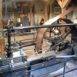 Muskegon Heritage Museum Exhibits Corliss Valve Steam Engine