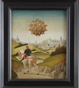 Bass Museum of Art Opens  Laurent Grasso Portrait of a Young Man