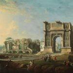 Museo del Prado Exhibits Architectural Landscape by Antonio Joli