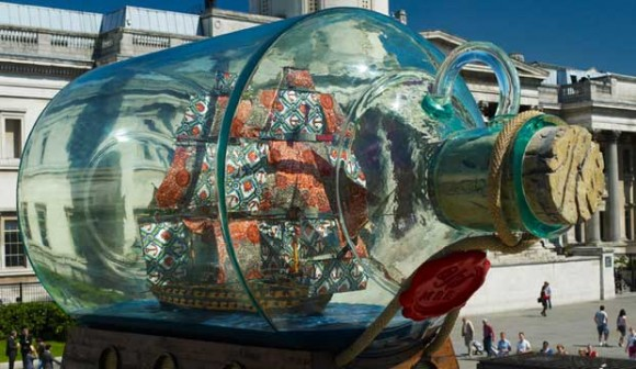 Nelson's Ship in a Bottle gets new home at the National Maritime Museum