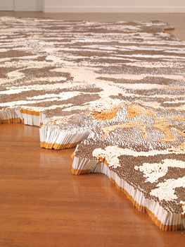Aldrich Contemporary Art Museum presents Xu Bing.Tobacco Project