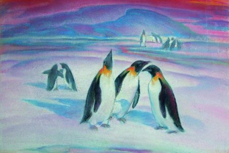 Fitchburg Art Museum presents The Magic of Antarctic Colors: David Abbey Paige, Artist of the Byrd Antarctic Expedition 1933-1935