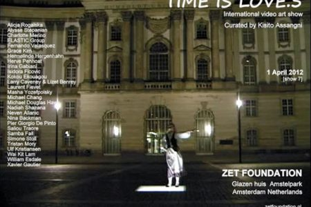 Time is Love.5  International video art program Curated by Kisito Assangni