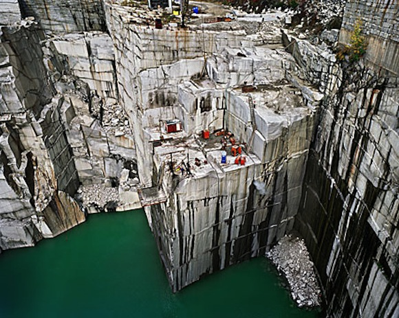 Nature Transformed Edward Burtynskys Vermont Quarry Photographs In Context