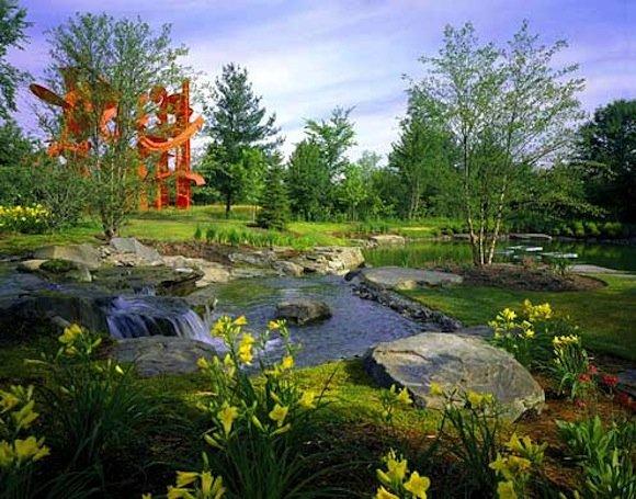 Frederik Meijer Gardens Sculpture Park Opens Beverly Pepper Palingenesis Museum Publicity