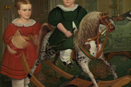 National Gallery of Art displays Deacon Robert Peckham's Hobby Horse