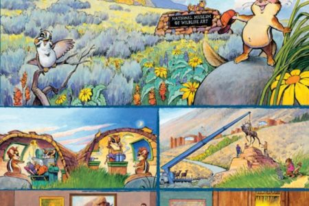 National Museum of Wildlife Art presents Carl the Chipmunk exhibition