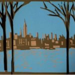Hoboken Historical Museum opens Hoboken in Print. Hand-Cut Stencil Screen Prints by Ricardo Roig