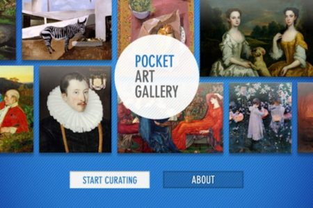 Pocket Art Gallery App is published by The Great British Art Debate