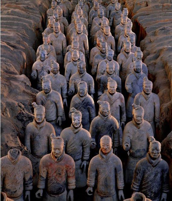 Minneapolis ... Terracotta Army Qin Dynasty 210 Bc Art