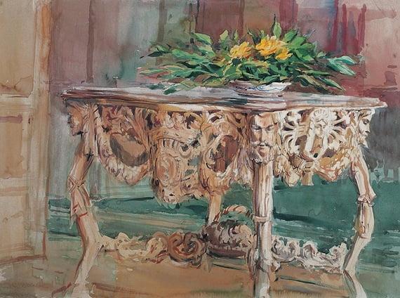 Laguna Art Museum Opens Timothy J Clark Watercolor