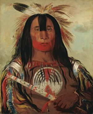 National Portrait Gallery opens George Catlin. American Indian Portraits