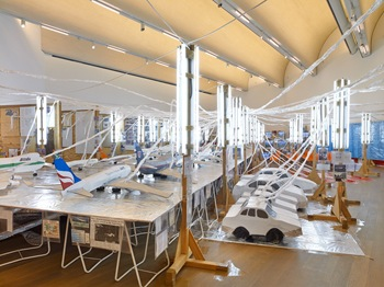 Mudam Luxembourg presents Thomas Hirschhorn Flugplatz Welt/World Airport