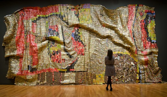 Brooklyn Museum extend Gravity and Grace: Monumental Works by El Anatsui exhibition