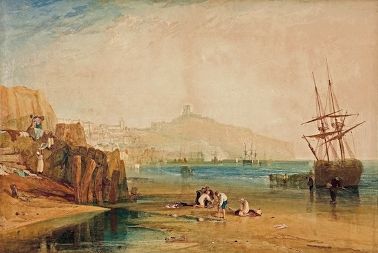 J.M.W. Turner Scarborough town and castle