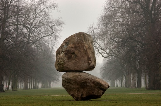 Fischli:Weiss Rock on Top of Another Rock